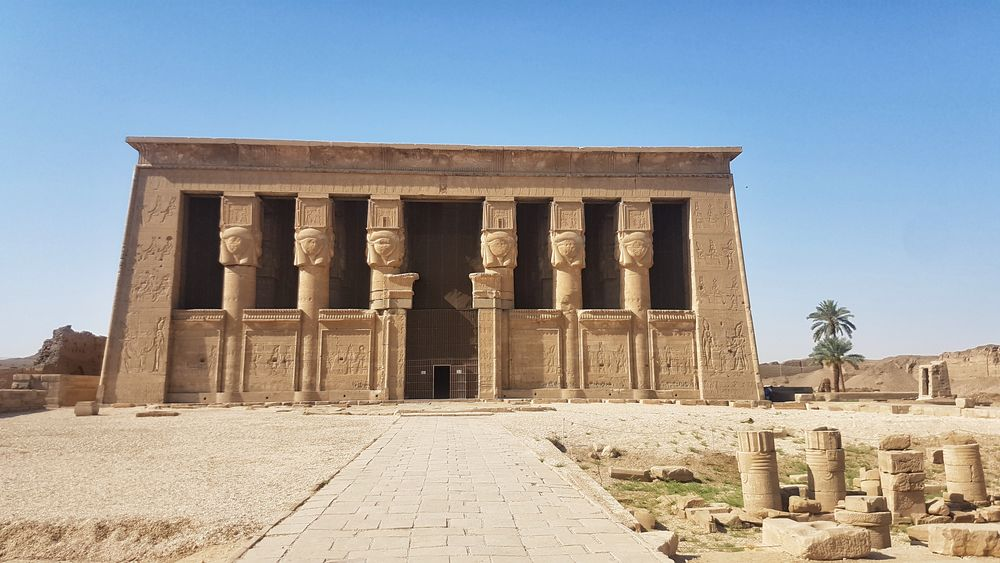 Temple of Hathor at Dendera 6
