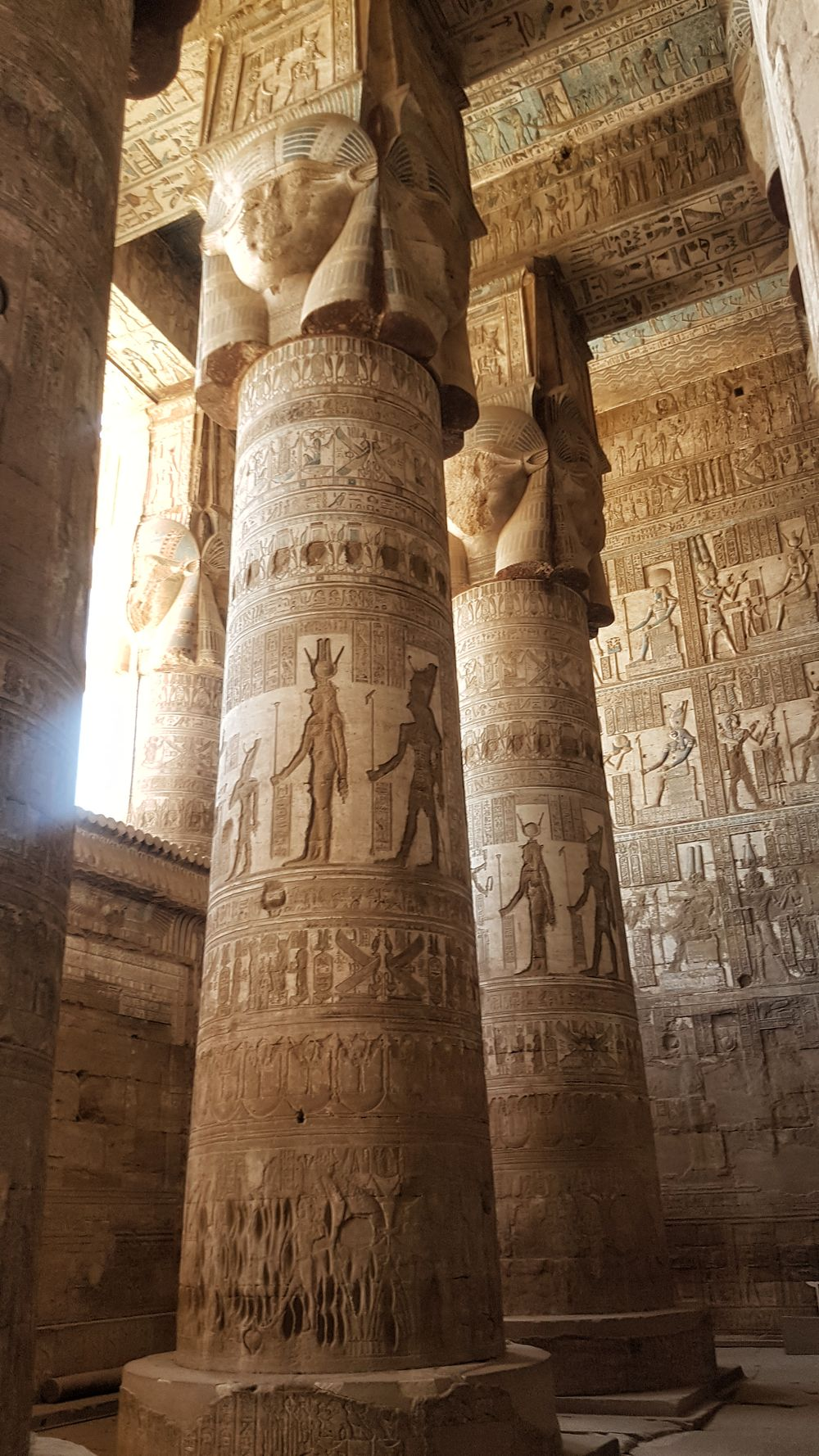 Temple of Hathor at Dendera 10