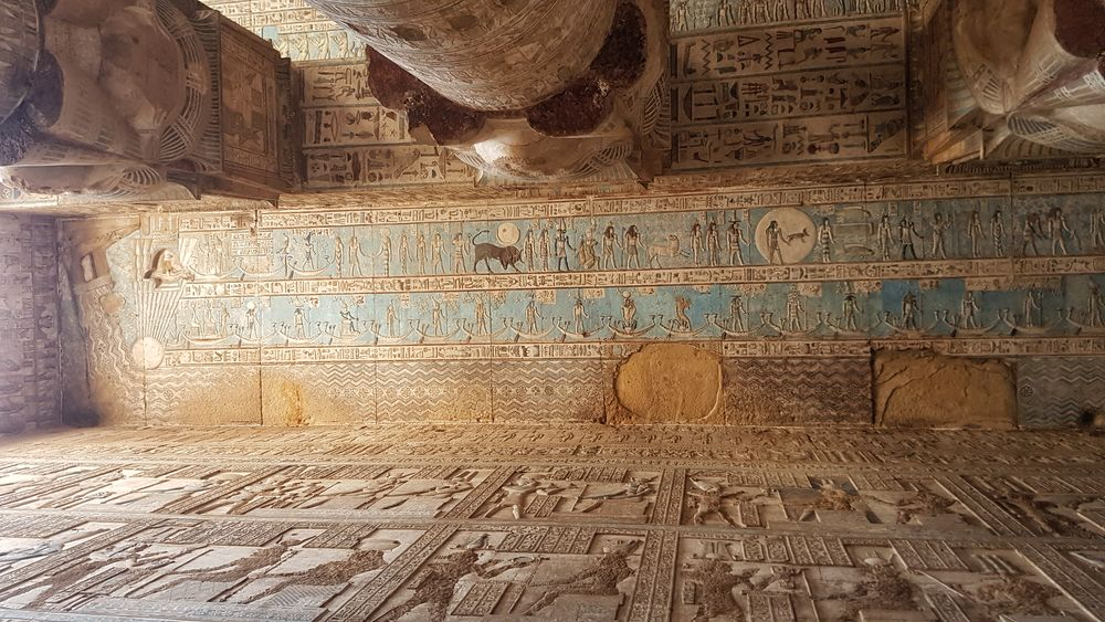 Temple of Hathor at Dendera 12