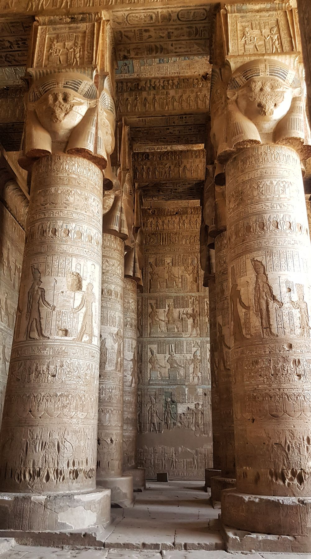 Temple of Hathor at Dendera 13