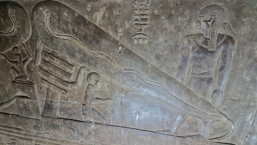 Temple of Hathor at Dendera 16